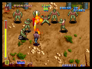Shock Troopers Neo Geo 034