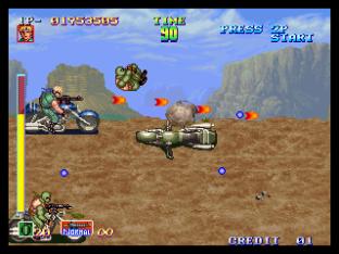 Shock Troopers Neo Geo 053