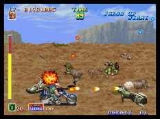 Shock Troopers Neo Geo 054