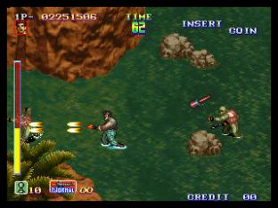 Shock Troopers Neo Geo 064