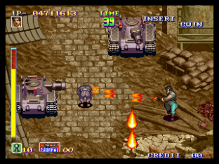 Shock Troopers Neo Geo 100