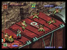Shock Troopers Neo Geo 110