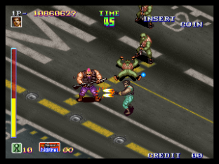 Shock Troopers Neo Geo 155