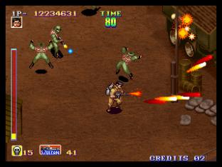 Shock Troopers Neo Geo 163