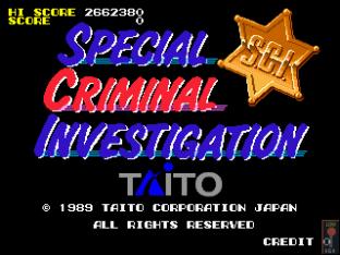 Special Criminal Investigation Arcade 01
