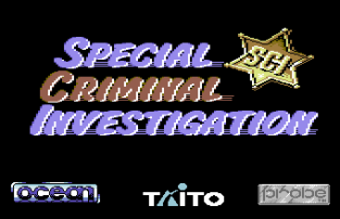 Special Criminal Investigation - Chase HQ 2 C64 01