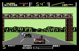 Special Criminal Investigation - Chase HQ 2 C64 45