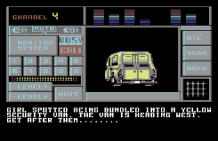 Special Criminal Investigation - Chase HQ 2 C64 86