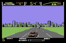 Special Criminal Investigation - Chase HQ 2 C64 87