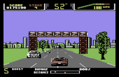 Special Criminal Investigation - Chase HQ 2 C64 88