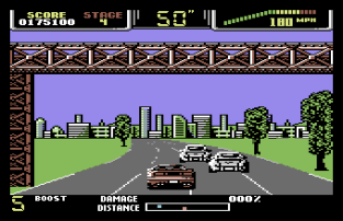 Special Criminal Investigation - Chase HQ 2 C64 89