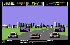 Special Criminal Investigation - Chase HQ 2 C64 98