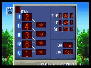 Stakes Winner Neo Geo 45