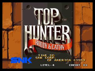 Top Hunter Neo Geo 001