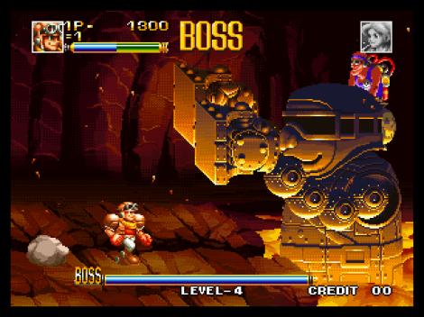 Top Hunter Neo Geo 155