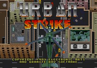 Urban Strike Megadrive 001