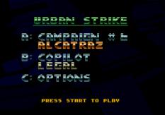 Urban Strike Megadrive 088