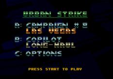 Urban Strike Megadrive 098