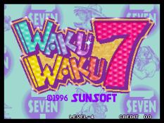 Waku Waku 7 Neo Geo 011