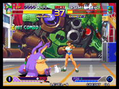 Waku Waku 7 Neo Geo 021