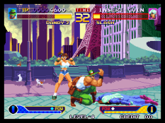 Waku Waku 7 Neo Geo 054