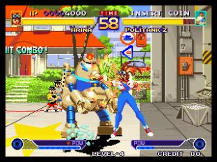 Waku Waku 7 Neo Geo 089