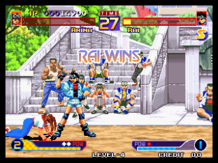 Waku Waku 7 Neo Geo 111