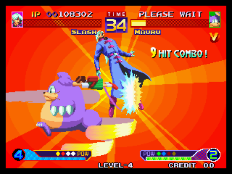 Waku Waku 7 Neo Geo 155
