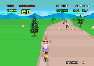 Enduro Racer Arcade 20