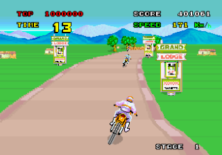 Enduro Racer Arcade 23
