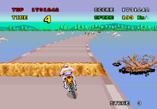 Enduro Racer Arcade 86