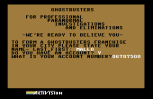 Ghostbusters C64 85