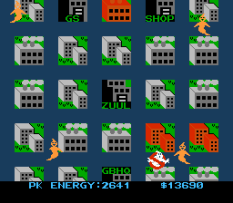 Ghostbusters NES 54