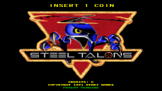 Steel Talons Arcade 001