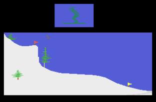 Winter Games Atari 2600 78