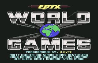World Games C64 001