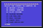 World Games C64 003