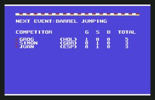 World Games C64 020