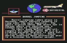 World Games C64 021