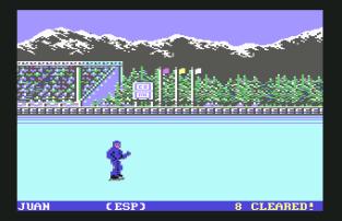 World Games C64 034