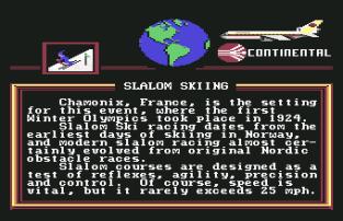 World Games C64 067