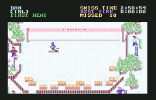 World Games C64 075