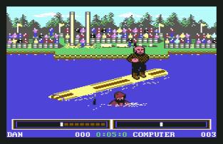 World Games C64 100