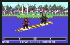 World Games C64 110