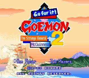 Ganbare Goemon 2 SNES 001