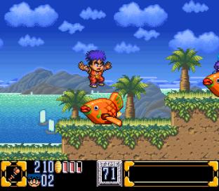 Ganbare Goemon 2 SNES 009