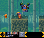 Ganbare Goemon 2 SNES 107