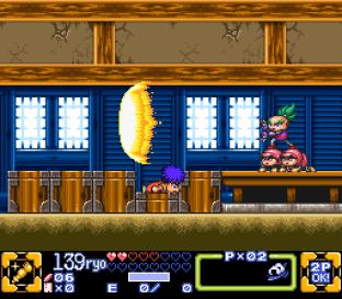 Ganbare Goemon 3 SNES 042