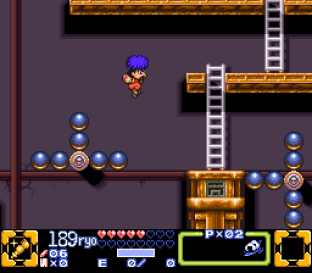 Ganbare Goemon 3 SNES 045