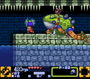 Ganbare Goemon 3 SNES 053